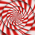 Abstract - Spirals - The Power Of Mint by Mike Savad