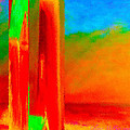 Abstract Splendor II by Glenna McRae