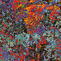 Abstract Spring by Ally  White