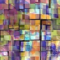 Abstract  Squares by Dorlea Ho