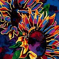 Abstract Sunflowers by Arthur Witulski