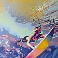 Abstract Surf by Leon Keay