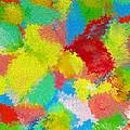 Abstract  Twenty  Of  Twenty  One by Carl Deaville