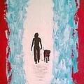 Abstract Walk by Aat Kuijpers