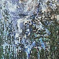 Abstract Winter Landscape by Dragica  Micki Fortuna