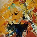 Abstract Women 010 by Corporate Art Task Force
