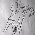 Abstract_couple Dancing by Yogesh Soni