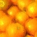 Abstracted Oranges by Alice Gipson