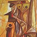Abstraction 486-10-13 Marucii by Marek Lutek