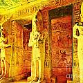 Abu Simbel Hypostyle Hall by Steven  Pipella