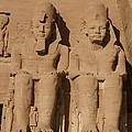 Abu Simbel Temples by Olaf Christian