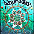 Abundance Money Magnet - Healing Art by Absinthe Art By Michelle LeAnn Scott