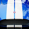Ac Shelby Cobra Grille - Hood Emblem by Jill Reger