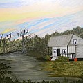 Acadian Home On The Bayou by Bertie Edwards
