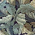 Acanthus Leaf Design by William Morris