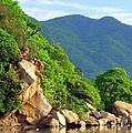 Acapulco Lagoon by Jim Whalen