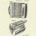 Accordion 1938 Patent Art by Prior Art Design