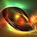 Accretion Disk by Kim Sy Ok
