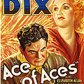 Ace Of Aces, Us Poster Art, From Left by Everett