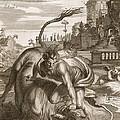 Achelous In The Shape Of A Bull by Bernard Picart