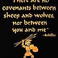 Achilles Admonition by Dale Loos Jr
