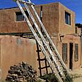 Acoma Pueblo Adobe Homes 3 by Mike McGlothlen