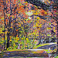 Acorn Lake Series 001 by John Warren OAKES
