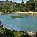 Across Goldwater Lake by Aaron Burrows