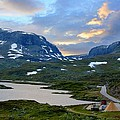 Across Scandinavian Mountains by Julia Fine Art And Photography