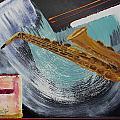 Acrylic Msc 036  by Mario Sergio Calzi