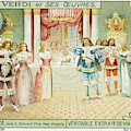 Act One  Alfredo Meets  Violetta by Mary Evans Picture Library
