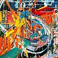 Action Abstraction No. 7 by David Leblanc