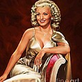 Actress Carole Landis by Dick Bobnick