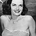 Actress Jane Russell by Underwood Archives