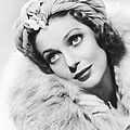 Actress Loretta Young by Underwood Archives