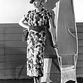 Actress Lucille Ball by Underwood Archives