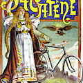 Ad Bicycles, 1898 by Granger