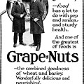 Ad Grape Nuts, 1919 by Granger