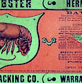 Ad Lobster, C1867 by Granger