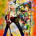 Adam Levine - Maroon 5 by Ryan Rock Artist