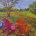 Adirondack Chairs In Leiper's Fork by Arthur Witulski