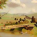 Adirondacks Bridge For Fishing by Mountain Dreams