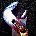 Adjustable Wrench H by Laurie Tsemak