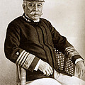 Admiral Of The Navy George Dewey Seen In 1899 On The Uss Olympia by California Views Archives Mr Pat Hathaway Archives