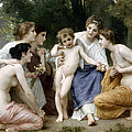 Admiration by William Bouguereau