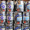 Adnams Jubilee Beer Keg by Julia Gavin