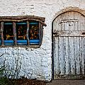 Adobe Door And Window by Peter Tellone