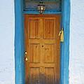 Adobe House Door by Richard Jenkins