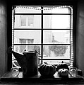 Adobe Window Autumn Still Life by Robert Meyers-Lussier