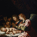 Adoration Of The Angels by Jacques Stella